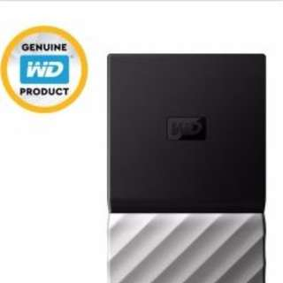 WD MY PASSPORT SSD 500 GB SILVER