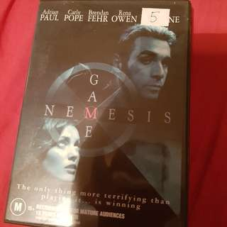 Nemesis Game DVD