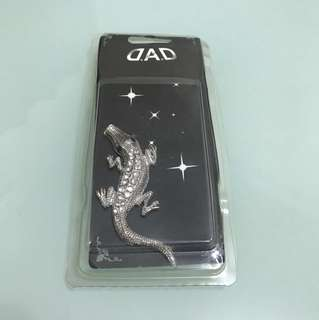 "(BRAND NEW) D.A.D car ""Lizard"" logo sticker"