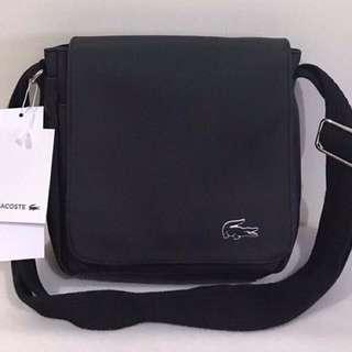Lacoste Men's Flap All-Purpose Bag authentic