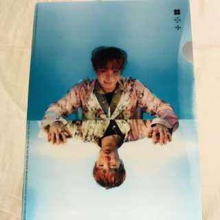 BTS J-hope WINGS L Folder