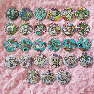 Inspired Tokidoki Badges