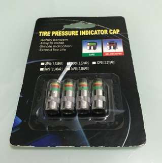 (BRAND NEW) Tire pressure indicator cap (Authentic)