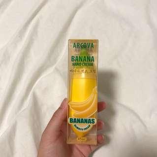 arcova banana hand cream