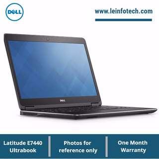 """DELL Latitude E7440 14.1"""" Notebook Core i5-4310U#2.00GHz 4GB 250GB SSD Win 10 Pro"""
