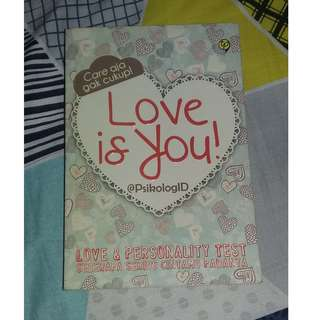 Buku Psikotes Love is You