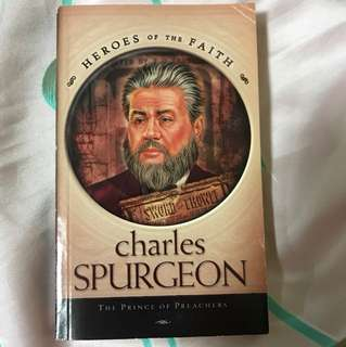 Choose 6 items for $10: Charles Spurgeon