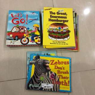 Kindergarten books - 22 pieces