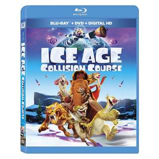 🆕 Ice Age: Collision Course Blu Ray + DVD