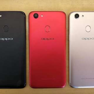 New Oppo F5 Red Limited #MidJan55