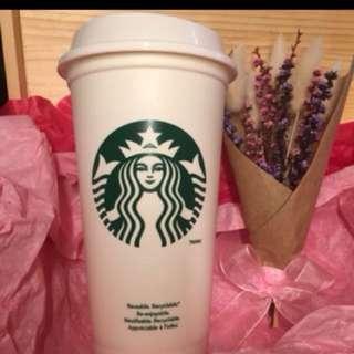 Starbucks tumbler tall size 12oz