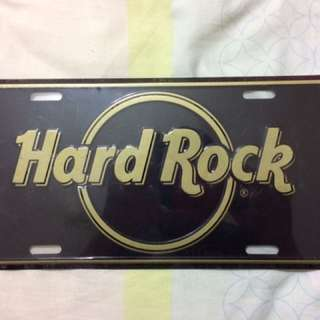 Hard Rock Aluminium Plate