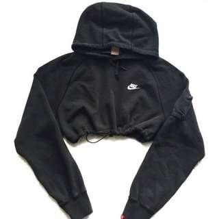 Nike Hoodie Cropped Sweater Jacket