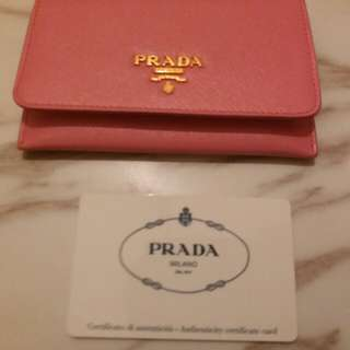 100%authentic Prada cards holders