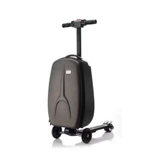 Luggage bag electric scooter