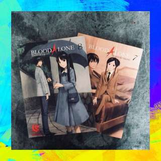 SALE! Blood Alone Vol. 7 & 8