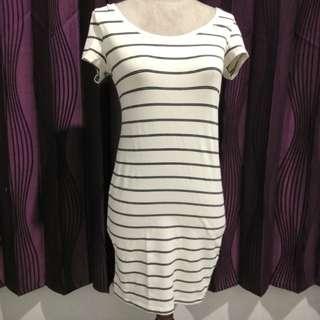 BANTING HARGA Dress stripe H&M