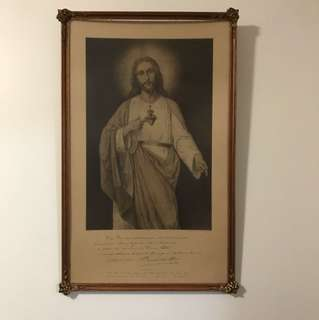 Jesus print July 1921