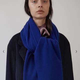 Acne Studio wool scarf