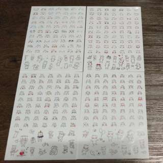 [PO] Cute Korean Emoji Stickers