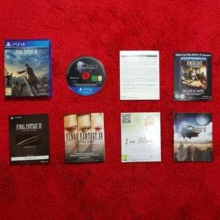 BD Bluray Disk PS4Final Fantasy XV Day One Edition