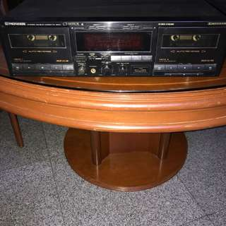 Pioneer Stereo Cassette Deck Platine Cassette Stereo