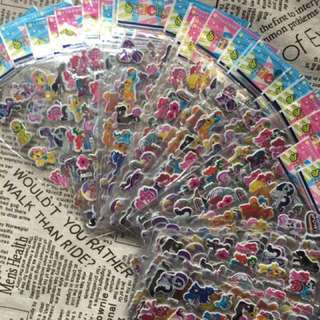 [bundle of 10pcs]My Little pony stickers/3D stickers