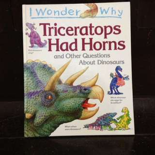 Grolier's Triceratops Had Horns