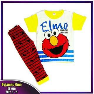 New! Set Elmo Pyjamas
