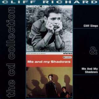 Cliff Richard The cd collection 1 Cliff Sings & Me And My Shadows double cd set