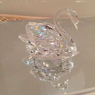 Swarovski Swan crystal decoration