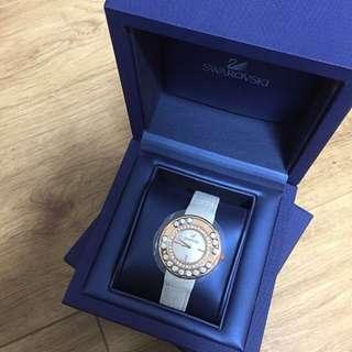 原裝正版 Swarovski 玫瑰金女裝手錶,割讓