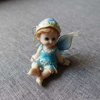 Blue Angel Figurine