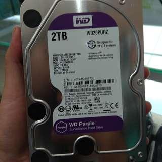 Harddisk WD Purple 2 TB 3'5