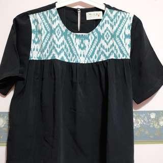 Green etnic batiq