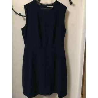 Dress Minimal - Navy XL