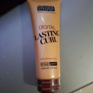 Digital lasting curl