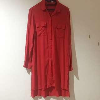Atasan / Kemeja Merah