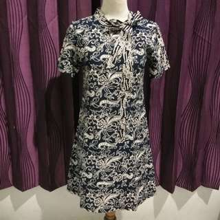Dress Batik Donker