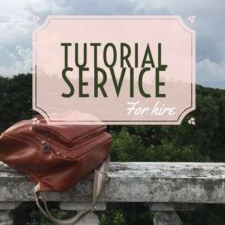 Tutorial Service