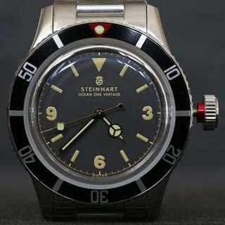 Steinhart Ocean One Vintage homage of Rolex
