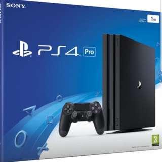 PS4 PRO 1TB (BNIB)