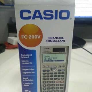 Casio  Financial Consultant (FC 200V)