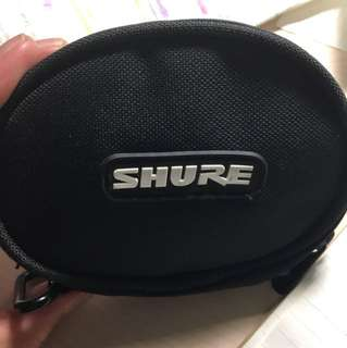 Shure earphone 耳機