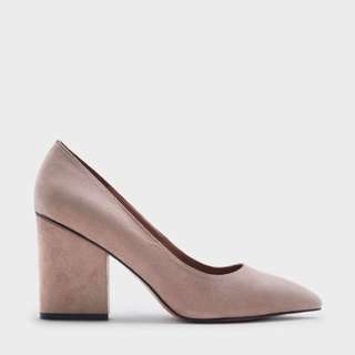 Charles & Keith Textured Pumps