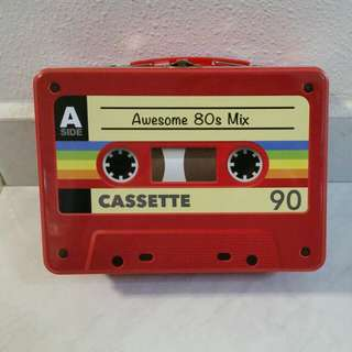 Awesome 80s Mix Cassette Metal Box