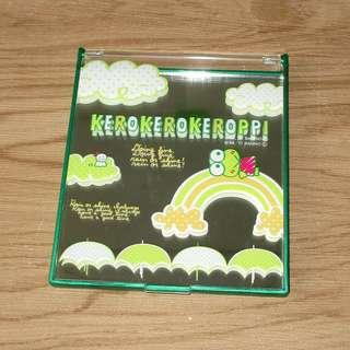 Sanrio 日本正版 Keroppi 青蛙仔 化妝鏡 (M)