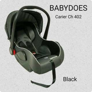 CAR SEAT CARRIER BABY DOES CH 402