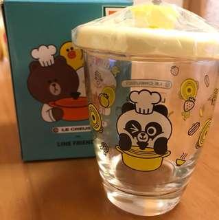 7-11 line Pangyo玻璃杯