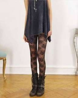 Lace Black Legging